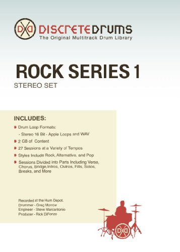 Sonoma Wire Works DDRS1STEREO Discrete Drums Rock Series 1 Stereo - Discrete Drums Series