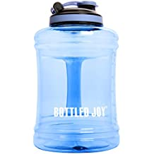 BOTTLED JOY 2.5L Water Jug with Handle, BPA Free Reusable Gym Sports Drinking Large Capacity Water Bottle Container 85oz 2500ml