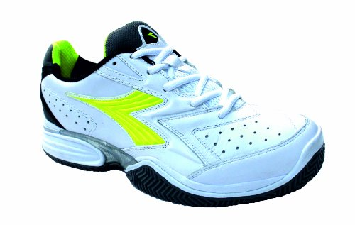 Diadora Men's Tennis Trainers S. Tech Clay white/neon