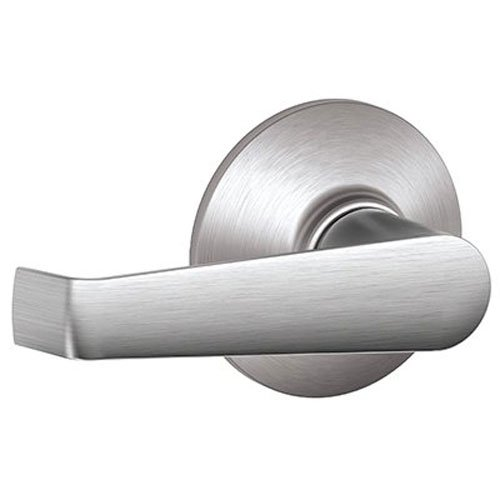 an Passage Lever, Brushed Chrome (Highlands Brass Handles)