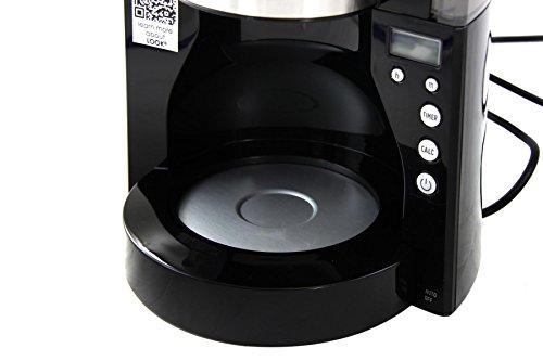 Melitta 1011-08 Look IV Timer Coffee Filter Machine, Black by Melitta by Melitta (Image #4)
