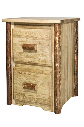 Montana Woodworks Glacier Country Collection 2-Drawer File Cabinet by Montana Woodworks