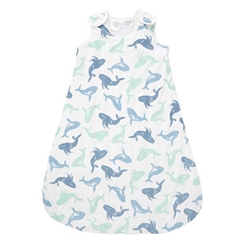 Amazon.com: aden + anais Winter Sleeping Bag - Seafaring Whales - 0-6m: Baby