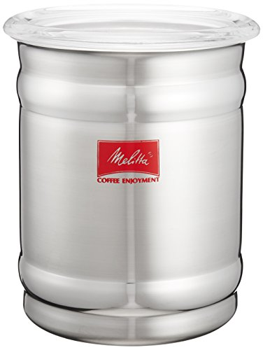 Melitta stainless canister MJ-2156 (japan import) by Melitta (Melita)