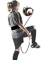 LAIZETONGXUN - Pallone da Calcio con Corda Elastica da 3 m per Allenamento, Aiuta a Controllare Le abilità