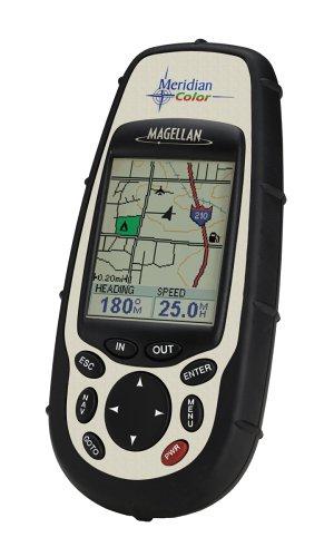 Magellan Meridian Color Handheld GPS Navigator (16 MB) (Magellan Gps Sportrak)