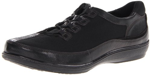 Aetrex Women's Berries Bungee Oxford,Blackberry,5 W (D) (Aetrex Black Oxford)
