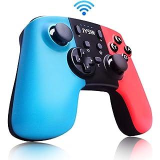 Upgraded Pro Wireless Switch Controller for Nintendo - Gamepad Joypad Remote Joystick Replacement for Nintendo Switch Controller, Adjustable Turbo Vibration, Motion Control