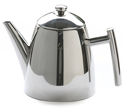 Stainless Steel Steel Infuser (Frieling USA 18/8 Stainless Steel Primo Teapot with Infuser, 22-ounce)
