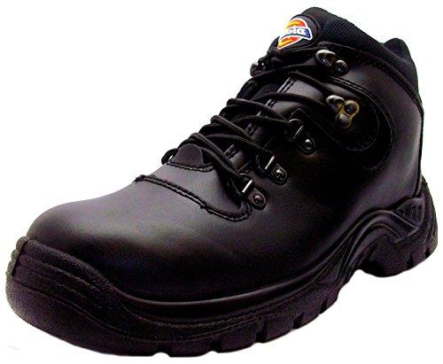 Hiker Dickies 9 Schwarzes Stahlkappe Leder Sicherheitsarbeitsstiefel Mens Fury Größe Super Fury Safety Bt q05qfHa
