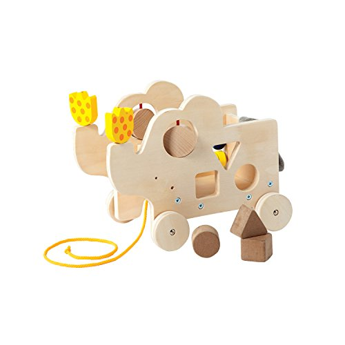 Manhattan Toy Natural Wooden Pull Along