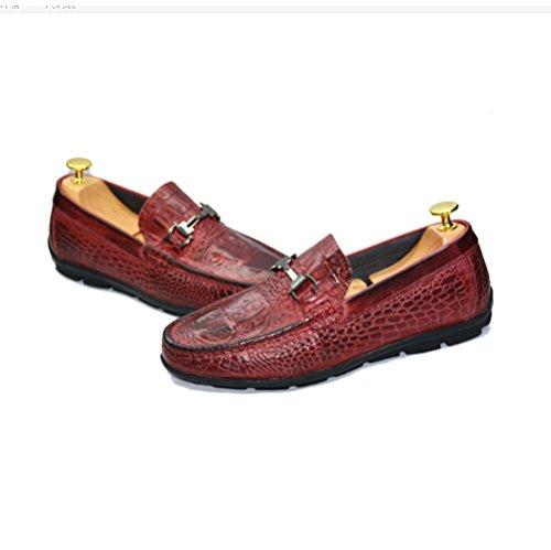 Chaussures Hommes Décontractée Chaussures Personnalité Pois Sauvages NIUMJ Paresseuses Winered wYqBxAp5S