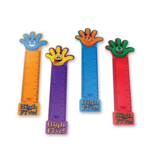 48 (4 Dozen) ~ High Five Ruler Bookmarks ~ Approx. 5