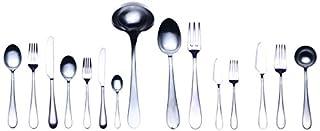 Mepra Natura 104228126 Ice 126 Pcs H/H Flatware Set - Silver Tableware, Dishwasher Safe Cutlery (B00GD9FS40) | Amazon price tracker / tracking, Amazon price history charts, Amazon price watches, Amazon price drop alerts