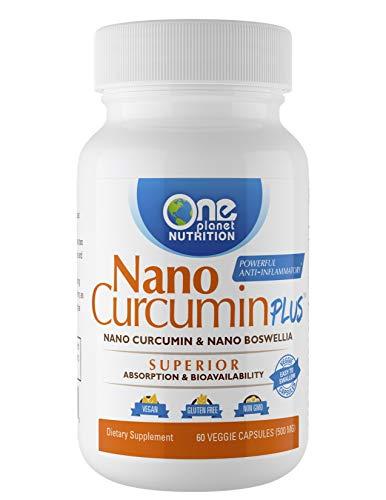 (Nano Curcumin Plus - Powerful Anti-inflammatory, Antioxidant, Joint Pain Reliever (60 Capsules))