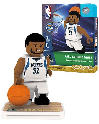 OYO Sports NBA Minifigure Minnesota Timberwolves Karl-Anthony Townes