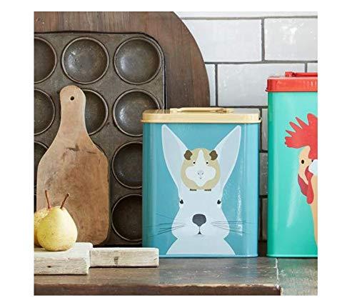 Burgon /& Ball Creaturewares Caja de almacenamiento para comida de mascotas