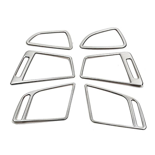 - STAINLESS STEEL AIR VENT OUTLET TRIM COVER STICKER FOR HYUNDAI TUCSON 2015 2016 2017