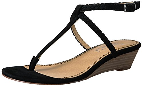 Splendid Women's Jadia Wedge Sandal Black