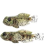 FISHN Gobyone Set van 5 rubberen vissen voor vissen op baars en baars