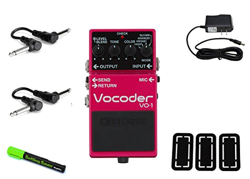 Boss VO-1 Vocoder PRYMAXE PEDAL BUNDLE by BOSS