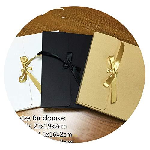 Beauty-inside 20pcs/lot 8inch 10inch Size Kraft Paper Packaging Box Simple General Folding Cardpaper Box Simple Gift Box Album Box Printable,Yellow,8x11cm]()