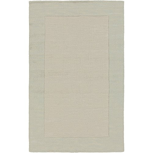 - Surya Mystique M-5323 Hand Loomed Wool Solids and Borders Area Rug, 7-Feet 6-Inch by 9-Feet 6-Inch