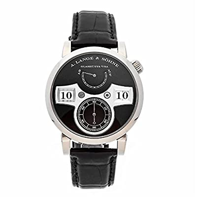 A. Lange & Sohne Zeitwerk Mechanical-Hand-Wind Male Watch 140.029 (Certified Pre-Owned) from A. Lange & Sohne