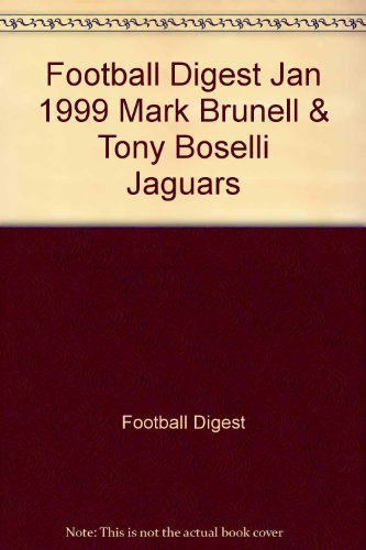 Football Digest Jan 1999 Mark Brunell & Tony Boselli Jaguars