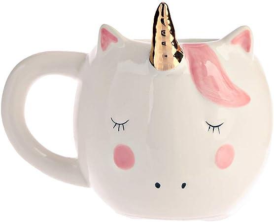 vraiment à l'aise vente en magasin En liquidation Amandy Unicorn Tasse 301-400ml Mug Tasse Expresso Tasse thé ...
