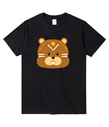 DDDXXX Bear Tshirt For Mens M Black (Harry And David Organic)