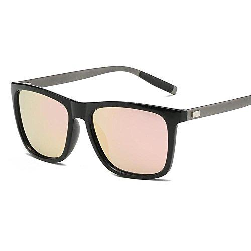 Hombre C Dama Moda de creativos de Brillante Aluminio Sol Sol Gafas Axiba de Gafas polarizado magnesio Regalos de Gafas Sol Color R5nq8d