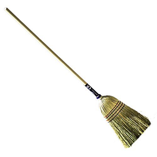 LaPrima Shops Authentic Hand Made All Broomcorn Broom (54-Inch/Medium)