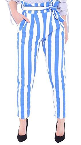 Negro Pantalones 21fashion Talla Mujer Azul qZZ6w4WX