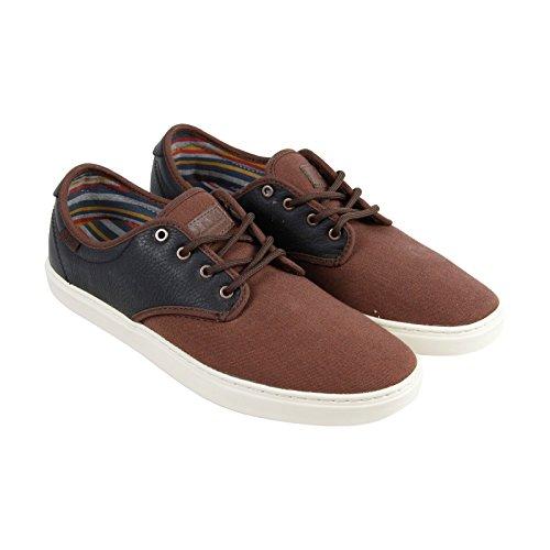 Zapatillas De Deporte Vans Hombres Ludlow Low Top Lace Up Marrón / Antigüedad