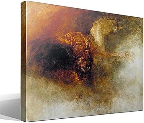 Cuadro Canvas Muerte en un Caballo pálido de Joseph Mallord William Turner
