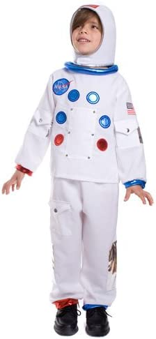 Dress Up America Disfraz de Astronauta de la NASA para niños ...