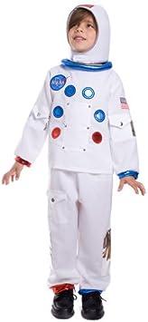Dress Up America Disfraz de Astronauta de la NASA para niños ...