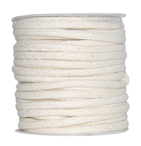 Lowest Price! Mandala Crafts Soft Drawstring Replacement Rope Upholstery Crochet Macramé Cotton Wel...