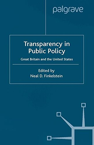 Transparency in Public Policy: Great Britain and the United States