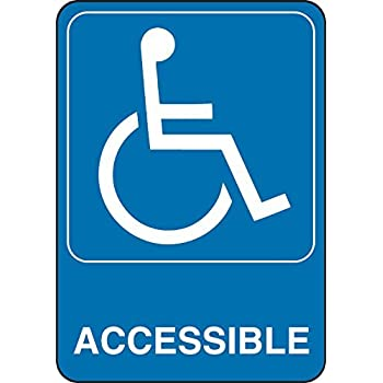 amazon com hillman 841780 accessible symbol visual impact self