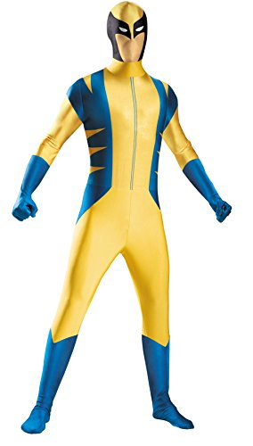 Morris Costumes WOLVERINE BODYSUIT COSTUME 10-12 (Buy A Stormtrooper Costume)