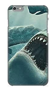Case Provided For Iphone 6 Plus Protector Case Animal Shark Killer Hunter Phone Cover With Appearance