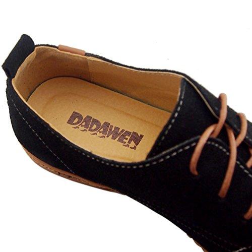 DADAWEN Men's Leather Oxford Shoe