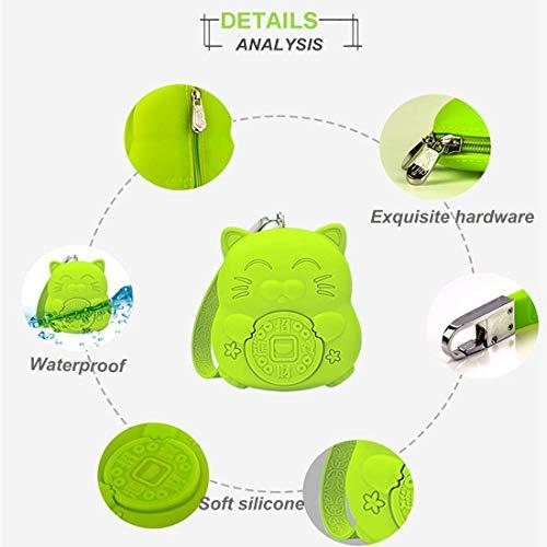 Amazon.com: Meta-U - Monedero cuadrado de silicona ...