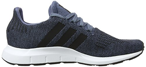Adidas M US Footwear Black White 10 CORE Steel Swift Run Men RAW vqrvPw