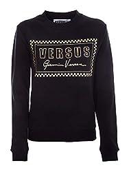 Versus Versace Women S Bd90715bj10390b1008 Black Cotton Sweatshirt