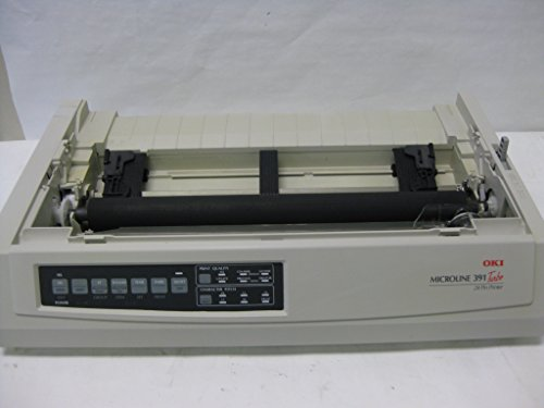 (Okidata 62412001 OKI Microline 391 Turbo - Printer - monochrome - dot-matrix - 360 dpi - 24 pin - up to 390 char/sec - parallel, USB )