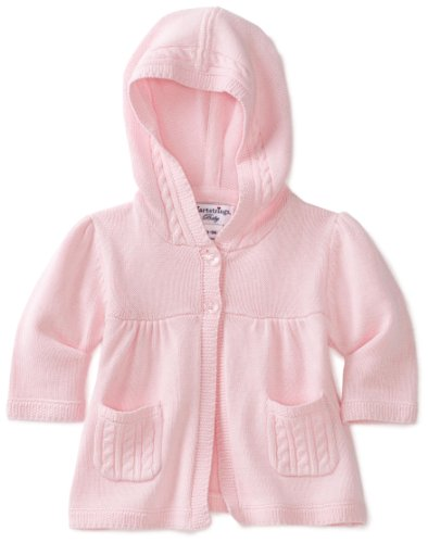 Hartstrings Baby-girls Newborn Hooded Sweater