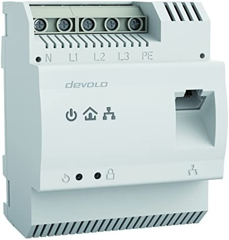 devolo Magic 2-2400 LAN DINrail fast Internet from distribution box optimum Internet coverage via power line Powerline DIN rail adapter G.hn technology